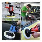 6'' Polisher Buffer Wool Buffing Clean Pad Magic Patch Car Detailing Polishing