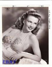 Gale Robbins busty VINTAGE Photo