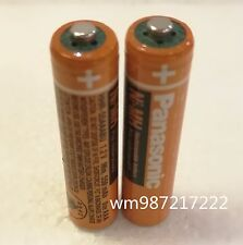 New 2pc  Panasonic HHR-55AAABU AAA 550mAH RECHARGEABLE 1.2V BATTERY NI-MH