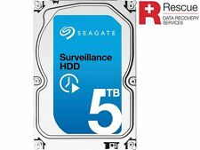 Seagate Internal Hard Drive + Rescue Data Recovery Services ST5000VX0011 5T