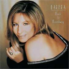 BARBRA STREISAND : BACK TO BROADWAY (CD) sealed