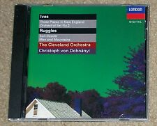Ives Three Places in New England Ruggles Sun-treader The Cleveland Orchestra CD