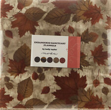 "Moda FABRIC Layer Cake ~ ENDANGERED SANCTUARY FLANNELS ~ Holly Taylor - 10"" sqs"
