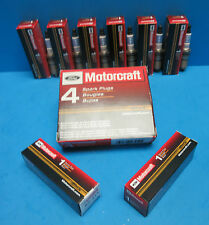 Set of 6 OEM FORD Motorcraft SP413 Spark Plugs AGSF32N Extended Performance life