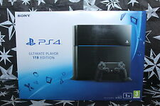 PS4 1TB Nero Console Nuovissimo Sigillato UK PAL STOCK ufficiale Sony PlayStation 4