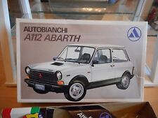 Model kit Nitto Autobianchi A112 Abarth on 1:24 in Box