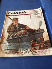 Collier's Magazine October 25 1952 Man on the Moon October 25 1952