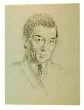 SMALL PORTRAITS C.W.HUTTON ESQ(1)  PATRICK PHILLIPS ARWS RP PENCIL c1969