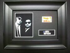 BLUES BROTHERS Framed Movie Film Cell Memorabilia Compliments poster dvd vhs