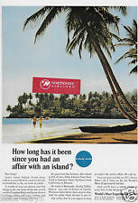 PAN AM HOW LONG HAS IT BEEN SINCE YOU HAD AN AFFAIR WITH AN ISLAND? JAMAICA AD