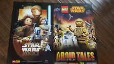 2015 SWCA STAR WARS CELEBRATION DISNEY LEGO EPISODE II ATTACK OF CLONES POSTER