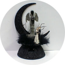 Angel of Death Reaper Halloween Wedding Cake Topper top funny Till Death scary