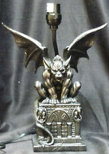"GUARDIAN of DARKNESS   Gargoyle Lamp    H20 ""  Statue"