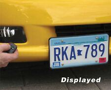 C6 Corvette 05-13 Retractable Front License Plate Bracket - Powered SHOW N GO