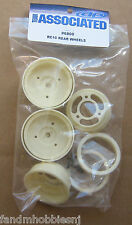 Team Associated RC 10 Classic,RC10 Rear wheels, Vintage Re Release Part 6800