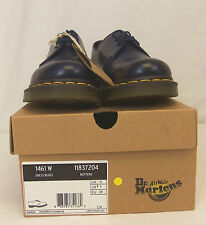 Dr. Martens 1461 W Dress Blue BUTTERO Women Sz US 7/ Men 6  Gibson Leather Shoes