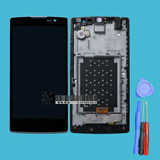 For LG Spirit H440 H442 LCD Display Touch Screen Digitizer Glass Assembly+Frame
