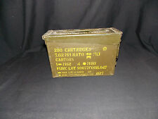 U.S. Military Vietnam Era 7.62MM/ 30 CAL Ammo Can Dated 68/69 VG