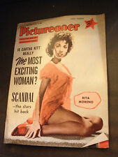18 FEB 1956 PICTUREGOER MAGAZINE - ELVIS PRESLEY / EARTHA KITT