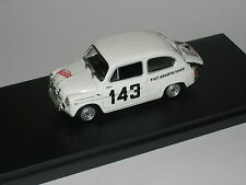 Mod90 1/43 MK.17 Fiat Abarth 1000 #143 Rally Montecarlo 1964 Die-Cast BUILT