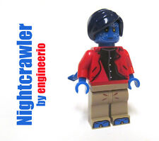 LEGO Custom Nightcrawler from X-Men Apocalypse Marvel Super heroes mini figure