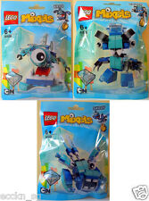LEGO Mixels Frosticons 41539 Krog, 41540 Chilbo, 41541 Snoof (Series 5)