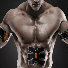Remote Control Abs 6-Pack Muscle Workout Train Bodybuilding Fitness Toning Belt