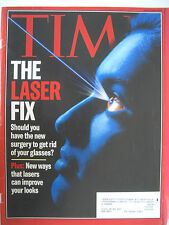 THE LASER FIX TIME MAGAZINE OCTOBER 11 1999 KEPT IN VERY GOOD CONDITION!