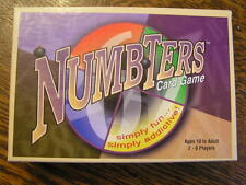 2000 Big Toe Games NUMBTERS Fun & Addictive Card Game For 2-8 Players Ages 10+