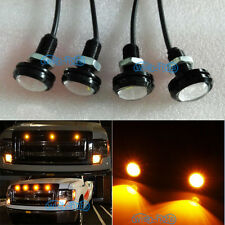4x Amber Grille Lighting LED Kit Universal Fit Ford SVT Raptor Style Truck SUV