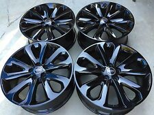 "20"" NEW 2015 FACTORY OEM RANGE ROVER SPORT FULL SZ HSE SUPERCHARGED BLACK WHEELS"