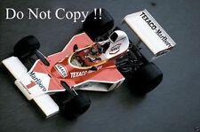Emerson Fittipaldi McLaren M23 Monaco Grand Prix 1975 Photograph 2