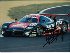 Mark Blundell Hand Signed Nissan Photo 8x6 1.