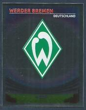 PANINI UEFA CHAMPIONS LEAGUE 2007-08- #094-WERDER BREMEN TEAM BADGE-SILVER FOIL