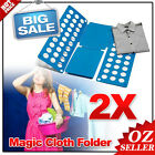 OZ Clothes Folding Board Adult Magic Flip Folder T Shirt Laundry Organizer 2x