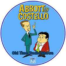 Abbott & Costello  - 183 Old Time Radio Shows MP3 DVD-CD