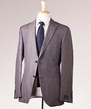 NWT $995 Z ZEGNA Gray-Brown Check Wool-Linen-Silk Sport Coat 40 R 'Light' Model