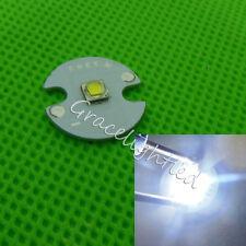 10pcs Cree XPG2 XP-G2 5W LED Lamp Bead Cool White 6000-6500K + 16mm Round pcb