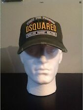 *** 2017 new dsquared 2 vert kaki casquette de baseball * limited edition rare 2017 stock