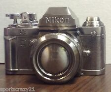 Vintage Metal Nikon Camera Lighter Made in Japan