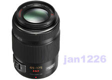 Panasonic Lumix G X VARIO 45-175mm F/4.0-5.6 PZ Lens Made in Japan Micro 4/3 blk