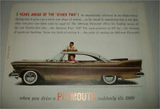 1957 Plymouth Belvedere 2 dr ht car ad