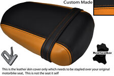 BLACK & ORANGE CUSTOM FITS SUZUKI 600 750 GSXR 08-10 K8 K9 L0 REAR SEAT COVER
