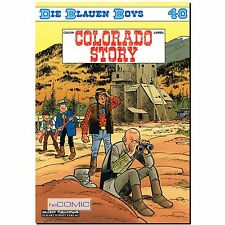 Die blauen Boys 40 Colorado Story Willy Lambil FUNNY WESTERN COMIC Raoul Cauvin