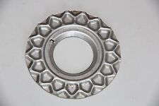 "GENUINE BBS RS 16"" 17"" SPLIT RIM ALLOY WHEEL CENTRE CAP WAFFLE PLATE 09.24.028"