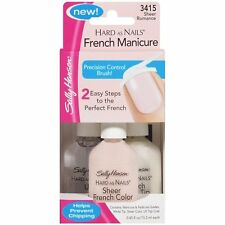 Sally Hansen Hard As Nails French Manicure 4 Piece Set Kit #3415 SHEER ROMANCE