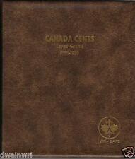 "Unimaster Coin Album #151 ""Canada Large Cents 1858-1920""  Pennies Money Storage"