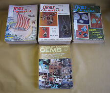 Vintage 60's & 70's Magazines Gems and Minerals Lot of 75 Magazines