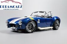 Kyosho K08045BY 1:18 Shelby Cobra 427 S/C Blue, yellow fender stripe NEW RELEASE