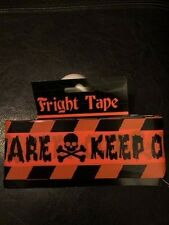 Beware Keep Out Barricade Tape -Jokes,Gags,Pranks- Halloween - 15 feet!